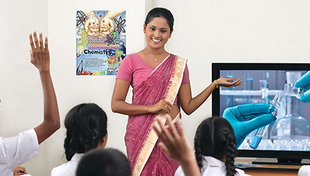 Photo of Teaching using Nenasa TV