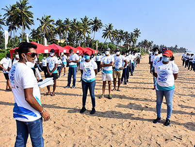 Sri Lanka Rugby Players 'Drive' Environmental Cleanliness During the Pandemic