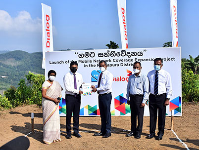 Dialog Axiata Partners Gamata Sanniwedanaya Project Initiated by TRCSL
