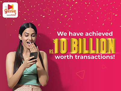 Dialog Axiata's Genie Reaches Rs. 10 Billion Worth Transactions by 2021