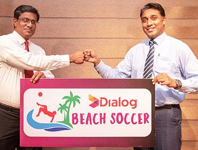 Dialog Beach Soccer Kicks-Off this April in Hambantota