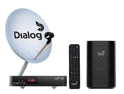 Dialog Television Integrates TeDi Alexa Solution to Enable Voice Commands