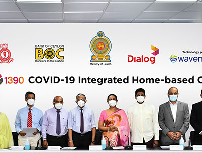 Bank of Ceylon, Dialog Axiata and Wavenet Partner in Landmark COVID-19 Relief Initiative for the Public