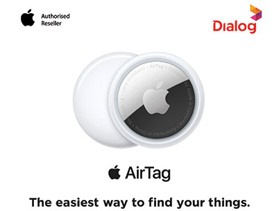 Dialog Introduces Apple AirTag, the Easiest Way to Locate Important Items