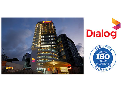 Dialog Axiata Group Becomes the First Quad Play Telco in South Asia to Receive the ISO 14001:2015 Certification