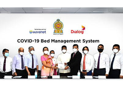 Dialog Axiata & Wavenet Donate a National Patient Bed Management System to the Health Ministry to Manage COVID-19 Patients