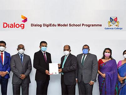 Dialog Enterprise Partners Gateway College as its Digital Education Partner