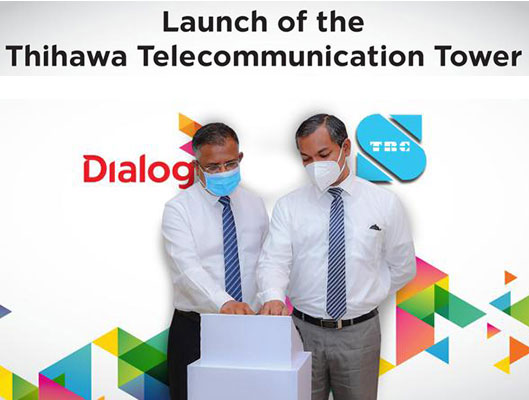 Dialog Axiata Launches Milestone 4,000th Network Tower