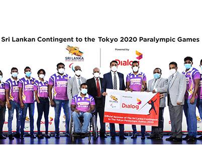 Dialog Powers Sri Lanka Paralympics Contingent 'Road to Tokyo'
