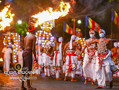 Dialog Axiata Extends its Support to the Sri Dalada Perahera for the 15th Consecutive Year