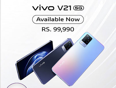 Dialog Launches the 5G-ready 'vivo V21' Device