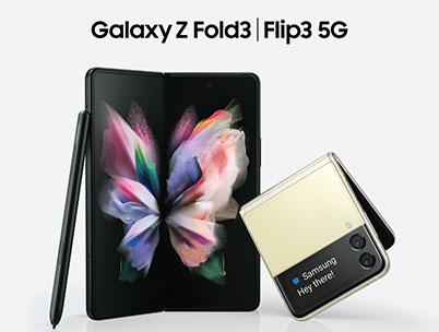 Samsung's Galaxy Z Fold3 5G and Flip3 5G